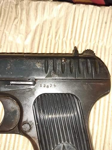 Weird markings on this undated TT-30