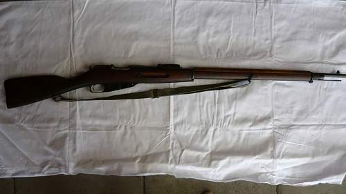 Another well travelled Mosin Nagant Finnish M91