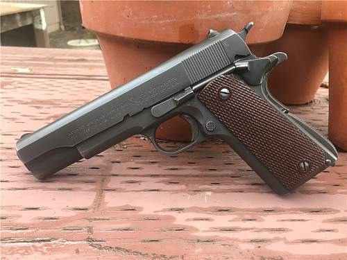 1943 US Army 1911A1 transferred to Canada under Lend-Lease