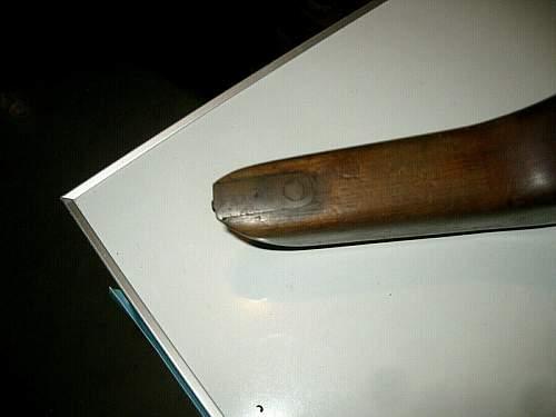 Mauser C96 Stock Identification