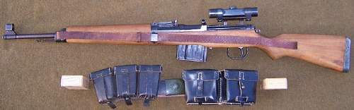 Walther AC44 G-43 Rifle