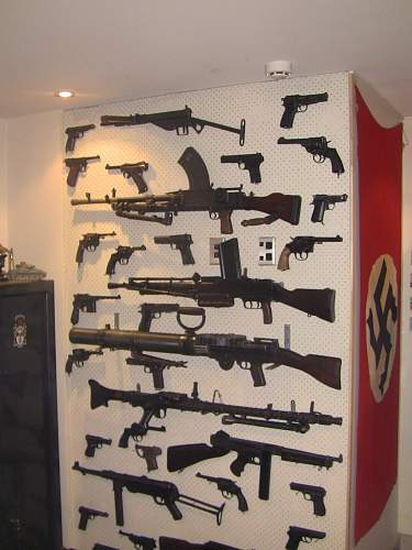 WW2 Small Arms Collection in New Zealand