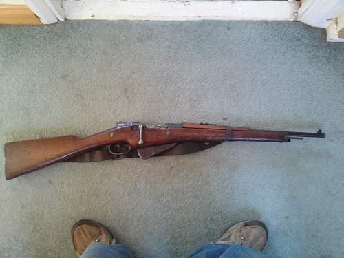 M1916 Berthier Carbine