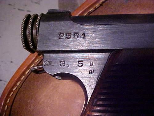 Japanese Type 14 Pistol