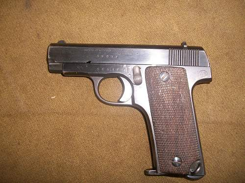 Spanish 'RUBY' Pistol French Army Contract