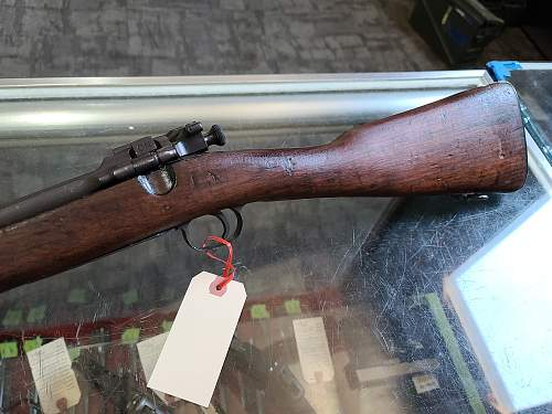 1903 Springfield with 44 barrel questions