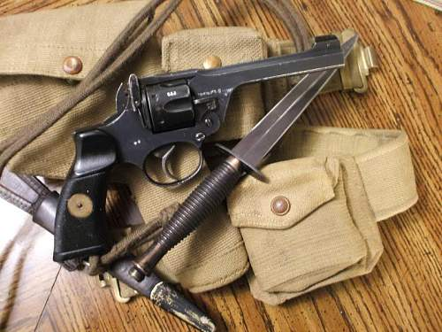 A pair of wwii  british revovers