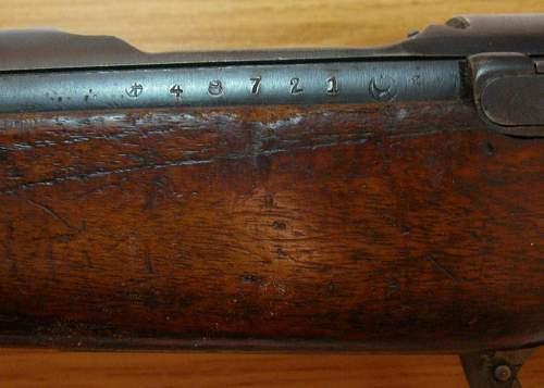 Japanese type 38 6.5 caliber rifle