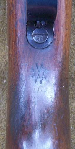 Wehrmannsgewehr Given as a shooting prize