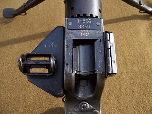 German WWII GrB39 Grenade Throwing Rifle