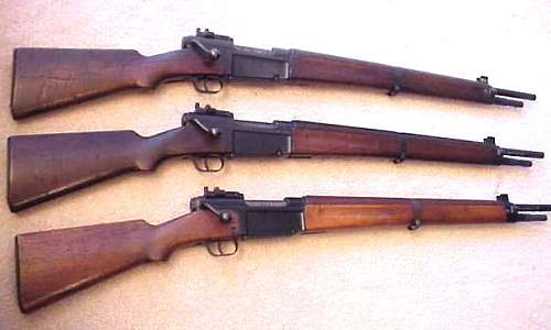 How about some WWII French rifles.