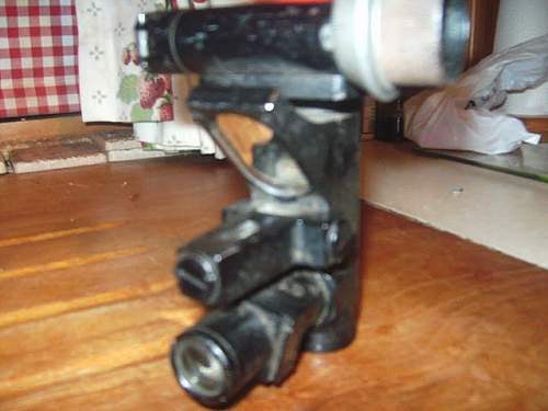 Any one help identify / value the gun sight Ive acquired