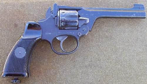British Enfield Revolver Dated 1944