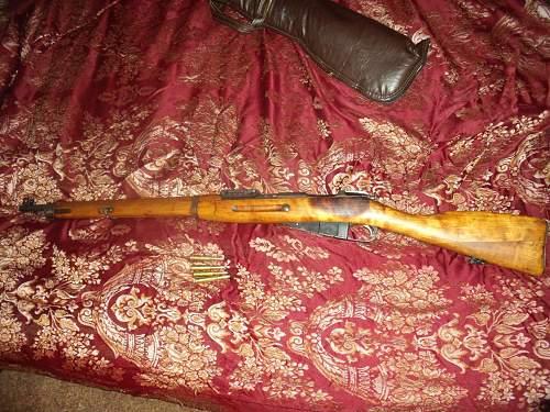 Mosin- Nagant Finnish civil gaurd rifle