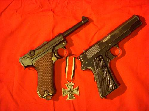 A couple of pistols