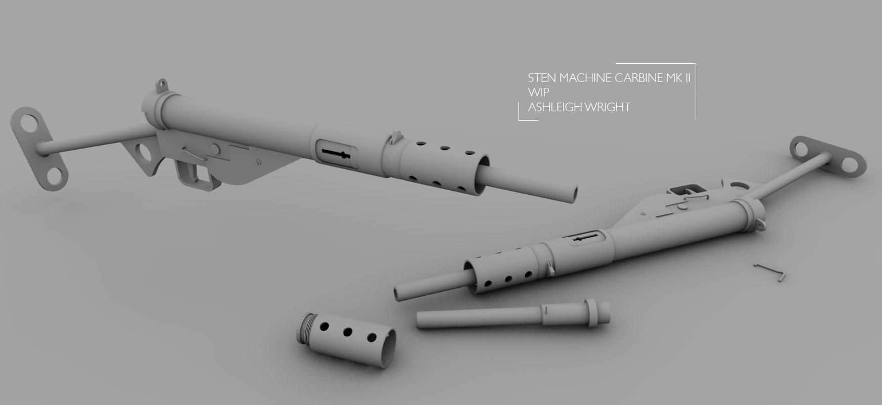 Original Literature For Sten Submachine Gun Help With A 3d Model