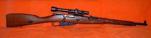 Russian M44 carbine
