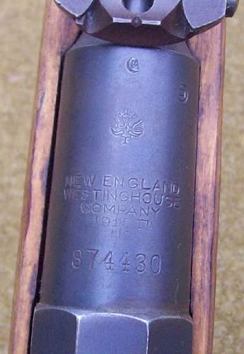 Westinghouse 1915 Mosin-Nagant Rifle