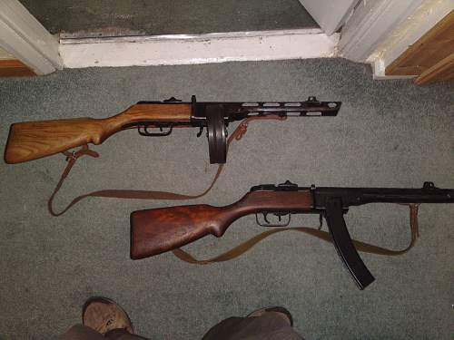 Two PPSh-41s... opinions on comparison?