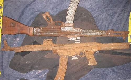 Walther MKb.42 assault rifle