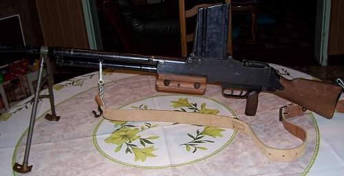 rifle machine gunner french 1924M29