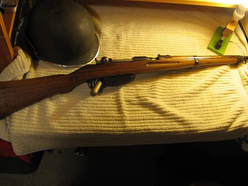 First rifle of 2011