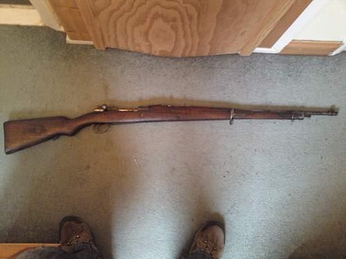 Israeli markings on Chilean Mauser??????