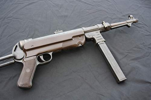 My Mp40 Birthday present - just wondered what you thought of my new aquisition?