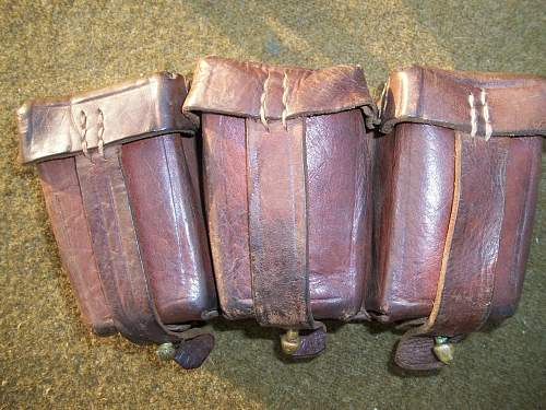 Interesting Ammo Pouch for Mauser Rifle