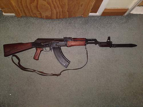 """An automatic rifle for the collection """"one shudders"""""""
