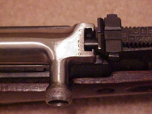 Original non-refurbed unfired 1950 Russian SKS