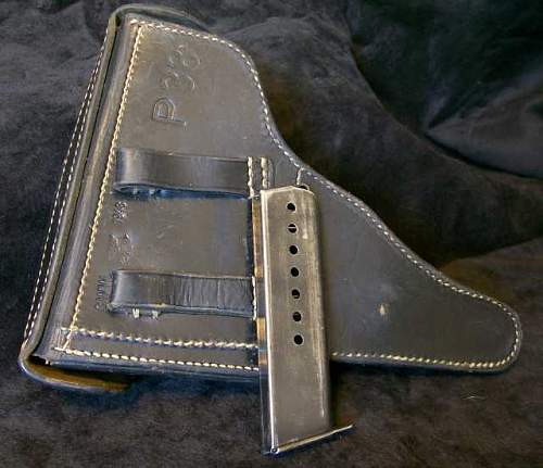 Need Info on 1943 P38, holster & clip