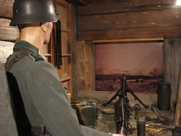 How to display a MG42