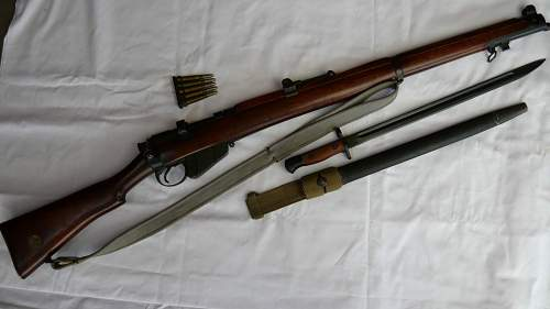 my SMLE 303 enfield 1918