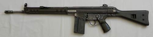 Heckler & Koch G3A3 Assault Rifle.