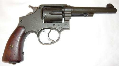 Smith & Wesson Victory Revolver circa 1943