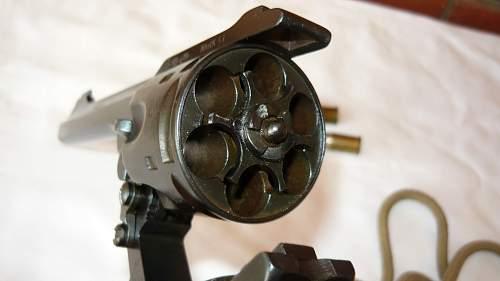 Webley Mk VI Revolver .455 cal 1917