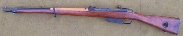 Italian M-41 Rifle