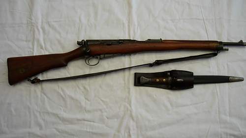 RIC Lee Enfield Carbine .303 cal