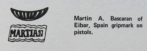 De martin a. Bascaran-eiber 7.65 semi auto pistol