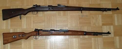 Click image for larger version.  Name:German Mauser G98 1916 & Kar 98k 1939-2.JPG Views:4719 Size:214.4 KB ID:193255