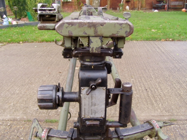 MG3 MG42 Lafette Mount Tripod HK mfg w/ OPTICS For Sale at ...