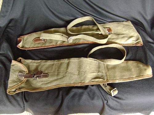 Unidentified Canvas Gun Carrying Case
