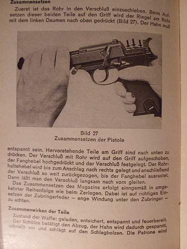 Walther P1 pistol