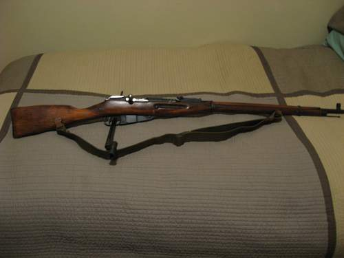 1937 dated Mosin Nagant M91/30