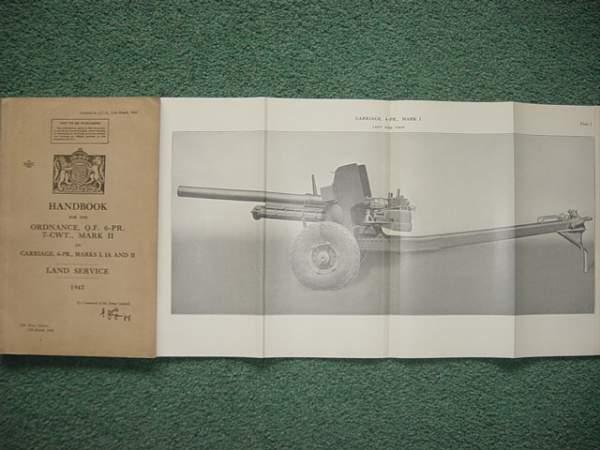 Click image for larger version.  Name:6 Pounder Anti Tank gun manual..jpg Views:648 Size:154.3 KB ID:19938