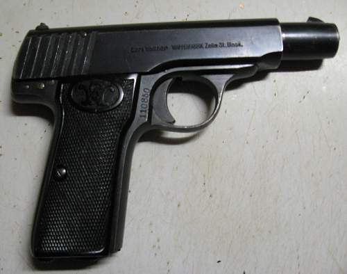 Walther 7.65mm Pistol