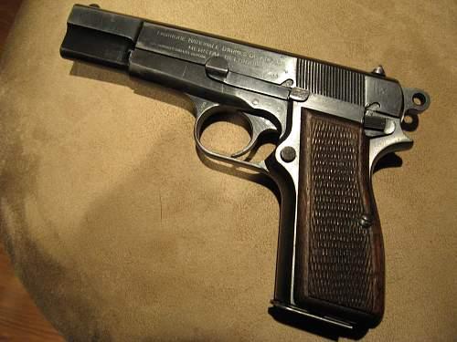 FN HighPower Rig Waffen Marked