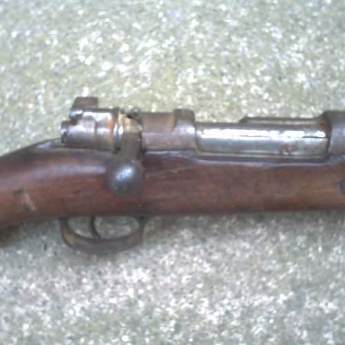 Shortend Gewehr 98