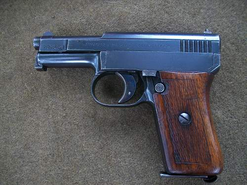Mauser 1910/14 Portguese Police or Military